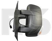 Зеркало левое механическое без обогрева 2pin с указателем поворота без подсветки Movano 2010-