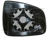 Вкладыш зеркала левый с обогревом Sandero 2008-13