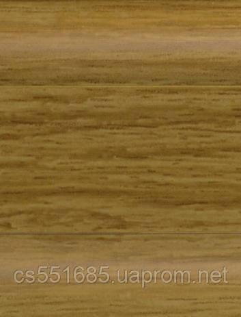 W 183 Дуб монтана - підлоговий плінтус з каб.каналом Dollken SLK 50