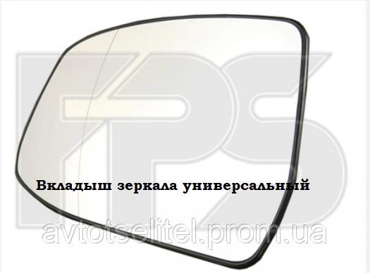 Вкладыш зеркала лев. с обогр. асферич. голубое BIG Volkswagen Sharan 1995-00