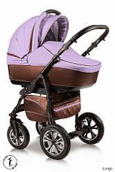 Детская коляска универсальная 2 в 1 Ammi Ajax Group Glory Lungo