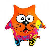 """Антистрессовая игрушка мягконабивная """"SOFT TOYS """"Пёс Звезда оранжевый"""""""