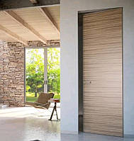 Межкомнатная дверь ELDOOR Wood (натуральный шпон) Орех американский GLOSS 5% в проем 2450х1000