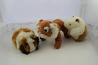 Тигр рыжий Бобби маленькая мягкая игрушка, фото 1