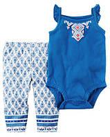 Набор для девочки (леггинсы и бодик-майка) арт.121Н107 (Carters) 12М