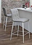 Барный стул Kuga на ножках фабрика Bontempi (Италия), фото 3