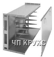 Короби кабельні металеві блочні ККБ, ККБС, КПС