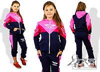 Спортивный костюм для девочки, размер 122,128, 134, 140, 152, 158, 164. В наличии 5 цветов