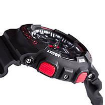 Часы  Casio G-Shock ga-100 Касио Джи Шок (Черные с Красным), Наручний годинник, Стильные! Спортивные, фото 2