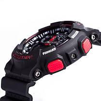 Часы  Casio G-Shock ga-100 Касио Джи Шок (Черные с Красным), Наручний годинник, Стильные! Спортивные, фото 3