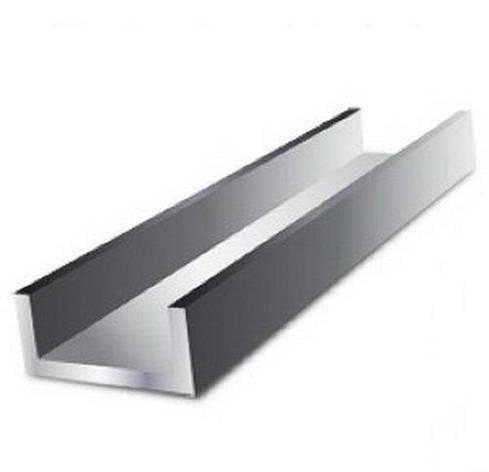 Алюминиевый швеллер 40 х 20 х 2 мм 6060 (АД31Т), фото 2