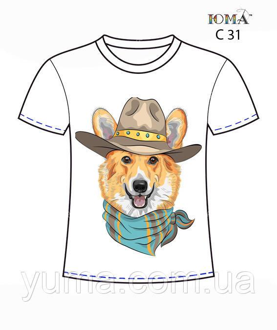"""Женская футболка c рисунком """"Хитрый лис"""""""