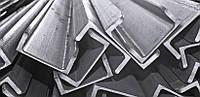 Алюминиевый швеллер 60 х 40 х 3 мм 6060 (АД31Т)