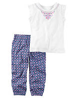 Набор для девочки (штанишки и футболка) арт.239G349 (Carters)