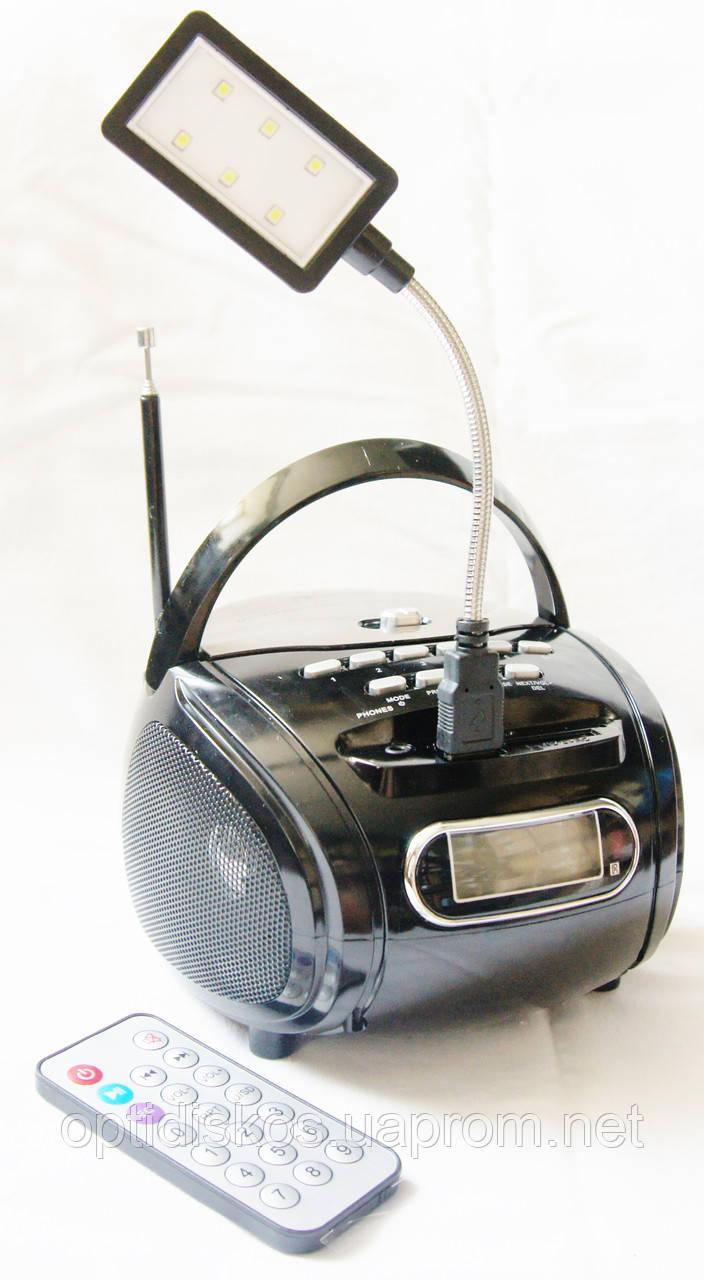 Портативная колонка Golon RX-686 (FM +MP3), черная