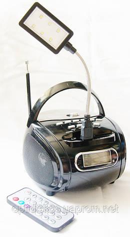 Портативная колонка Golon RX-686 (FM +MP3), черная, фото 2