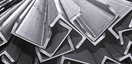 Алюминиевый швеллер 60 х 40 х 5 мм АД31Т П-образный профиль прессованный 6060 Т6, фото 2