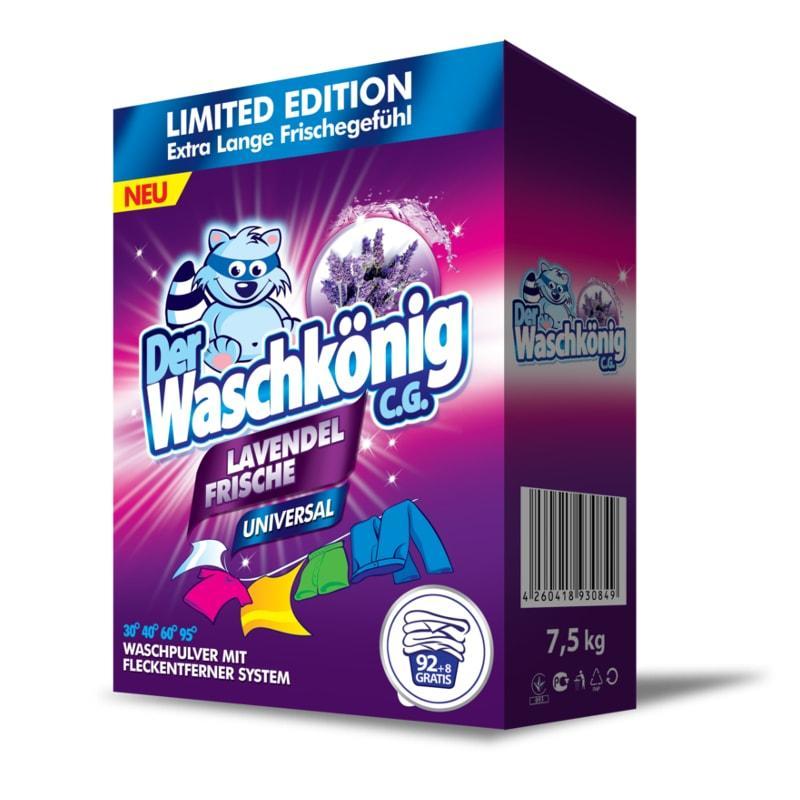 Порошок для прання Waschkonig universal lavendel 7,5 кг.