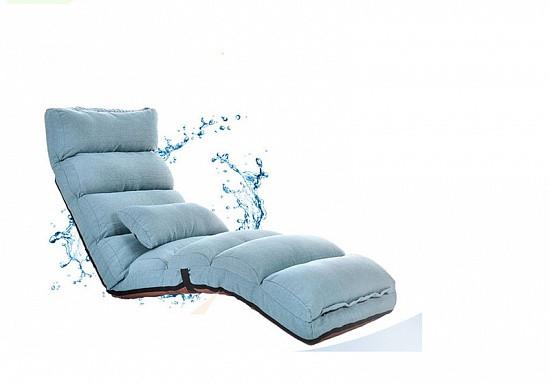Кресло трансформер удлиненное. Синее. (C1)