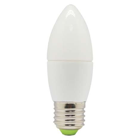 LED лампа Lebron С37 6W Е27 3000K 480Lm