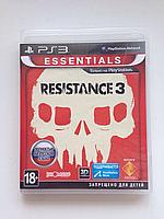 Видео игра Resistance 3 (PS3) рус.