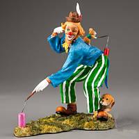 """Яркая, весёлая статуэтка """"Клоун"""" (4 вида) оригинальный подарок артисту цирка"""