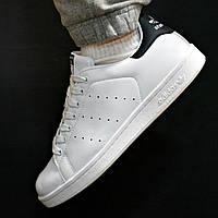 Кроссовки мужские Adidas Stan Smith белые с черным