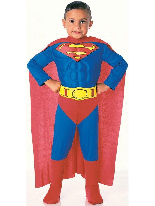 Супермен, маскарадный костюм супергероя