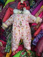 Зимний комбинезон для новорожденных (0-6 месяцев) Винни Пух, фото 3