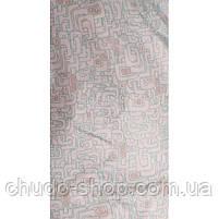 Зимний комбинезон для новорожденных (0-6 месяцев) белый лабиринт, фото 3