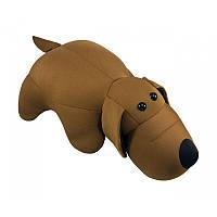 """Антистрессовая игрушка мягконабивная """"SOFT TOYS """"Собака коричневая"""""""