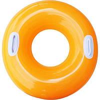 Надувной круг Hi-Gloss Tubes с ручками 76см Intex 59258