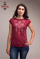 Жіноча блуза Писанка рожева, рукав-кімоно