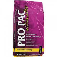 Pro Pac Ultimates Lamb Meal & Brown Rice корм для взрослых собак всех пород с ягнёнком и рисом, 2.5 кг