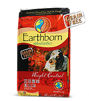Earthborn (Эрсборн) Holistic Weight Control низкокалорийный сухой корм с мясом курицы, 12 кг