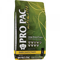 Pro Pac Ultimates Large Breed Puppy Chicken & Brown Rice корм для щенков крупных пород с курицей, 2.5 кг