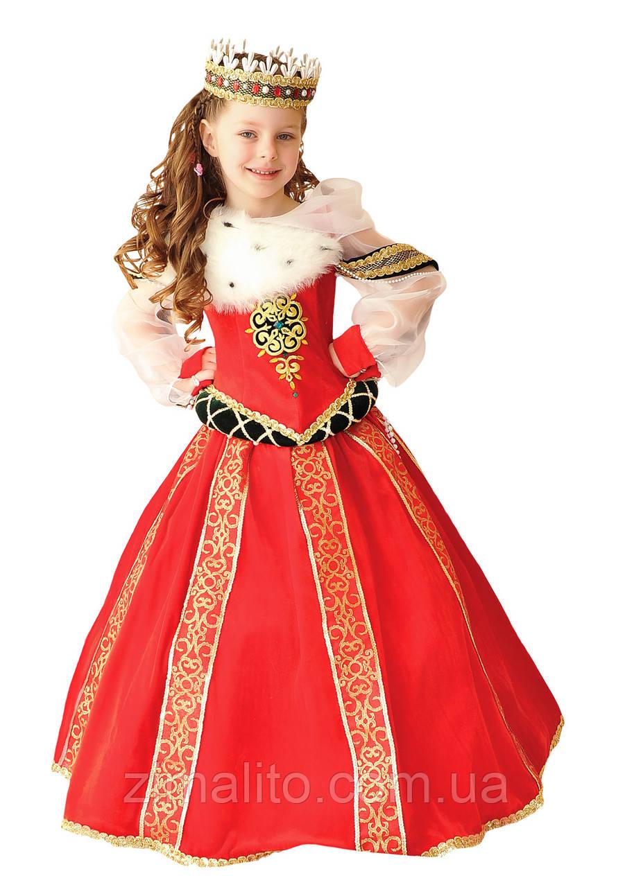 Королева Бургундская карнавальный костюм детский