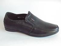 Туфли, мокасины школьные кожаные для мальчиков Kangfu 27 -32р 32
