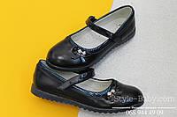 Туфли для девочки на танкетке школьная детская обувь тм Том.м р.32,34