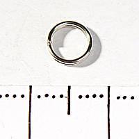 Фурнитура Кольцо заводное пружина 25 гр/уп d-6мм