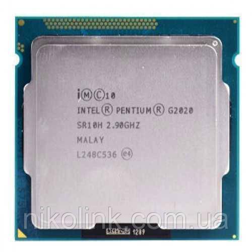 Процессор Intel Pentium Dual Core G2020 2.9GHz/5GT/s/3MB (BX80637G2020) s1155 Tray комиссионный товар