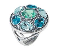 """Кольцо """"Версалия"""" покрытое серебром (r48030k7)"""