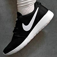 Кроссовки женские Nike Roshe Run черные 40