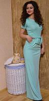 Стильное платье  дайвинг  Длина 165 см  Арт. 629 АР