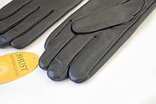 Женские кожаные перчатки Вязка 2-369, фото 3
