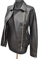Женская куртка из кожзама    № 822