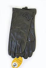 Женские кожаные перчатки КРОЛИК СЕНСОРНЫЕ Маленькие W22-160064s1, фото 2