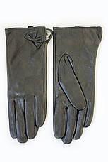 Женские кожаные перчатки КРОЛИК СЕНСОРНЫЕ Средние W22-160064s2, фото 3