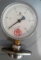 Манометр показывающий виброустойчивый с мембранным разделительным устройством МТП-100/1-ВУМ