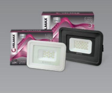 LED прожектор Velmax 20W 6200K 1800Lm